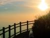 Soleil levant au Puy-de-Dôme