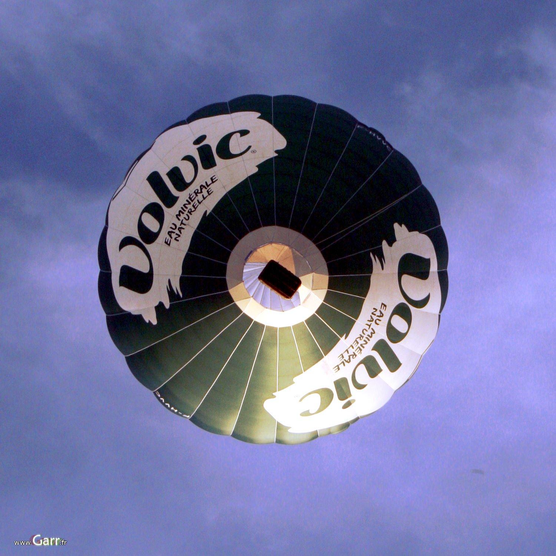 La montgolfière de Volvic