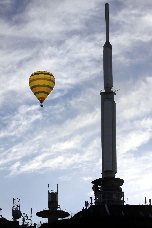 La grande antenne du Puy de Dôme