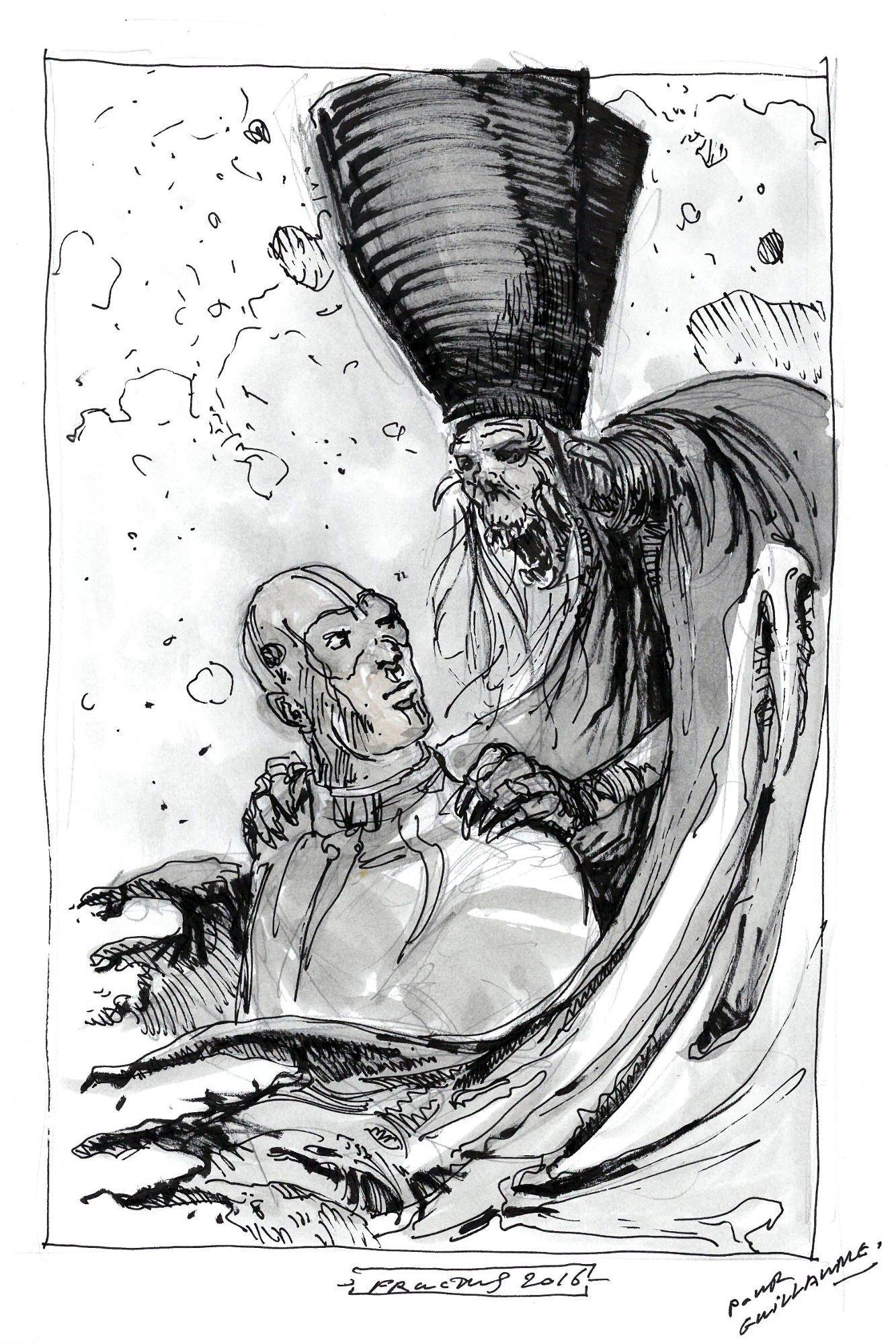 Dédicade Nicolas Fructus - tome 1 Showman Killer - www.garr.fr